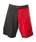 Straight Blast Gym MMA Shorts, Svart/Röda