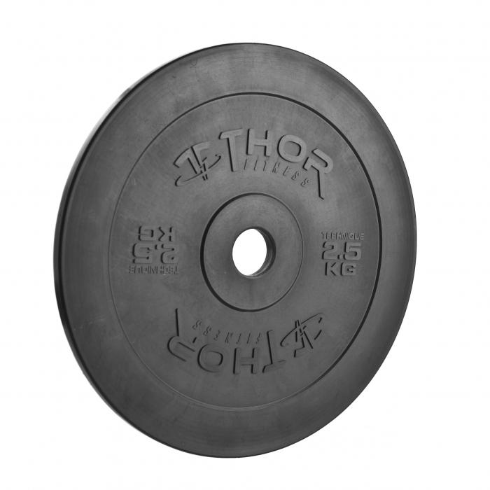 Thor Fitness 2,5KG Teknikvikt i Plast, 45cm Diameter, 22mm Tjocklek