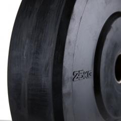 Bumper Viktskivor Helt I Gummi 50mm