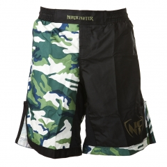 NF MMA Shorts Jungle Camo