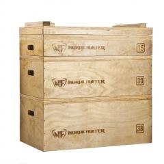 Wooden Jerk Blocks, par