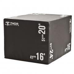 "Soft Plyometric Box 16"" 20"" 24"""
