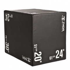 "Soft Plyometric Box 20"" 24"" 30"""