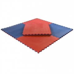 Pusselmatta 40mm Medium Red/Blue