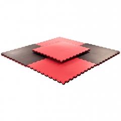 Pusselmatta 40mm Medium Black/Red