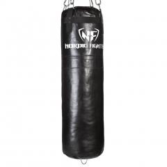 NF Boxing bag, Fylld 120cm / 40kg I Äkta Läder