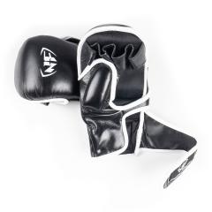 MMA Sparring glove type 1, Svart, läder