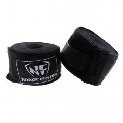 NF Cotton Handwraps 2.5-4.5m Svart/Vit
