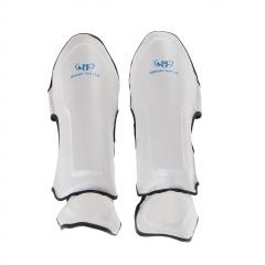 NF Thai shin instep type 1, Vitt, Läder