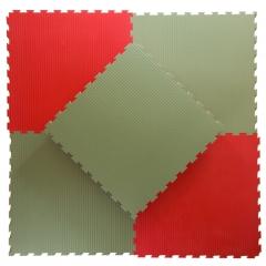 Pusselmatta 40mm Soft Green/Red
