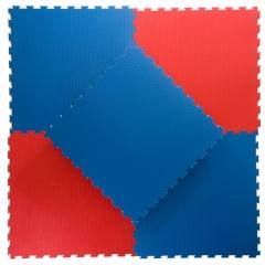 Pusselmatta 40mm Soft Red/Blue