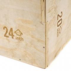 "Plyometric Wooden Box 20"" 24"" 30"""