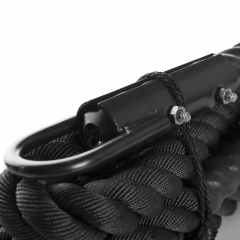 Klätterrep 6m svart i polyseter