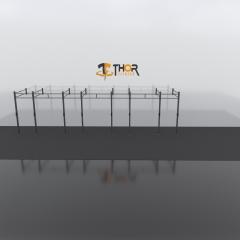 Thor Fitness Väggmonterad Rigg 7 Sektioner