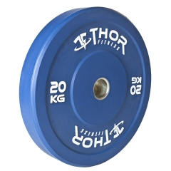 Thor Fitness Färgade Bumper Paket 100kg med skivstång