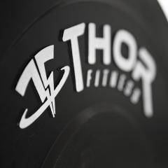 Thor Fitness Bumper Viktskivor Helt i Gummi 50mm